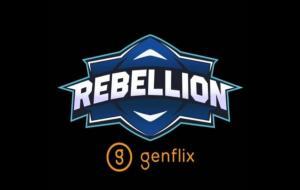 Logo Genflix Rebellion © Instagram (@rebellionesports.id)