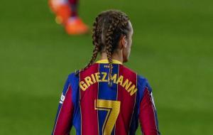 Penyerang Barcelona, Antoine Griezmann © AP Photo