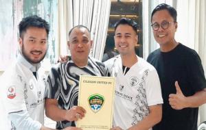 Cilegon United FC kini berganti nama menjadi Rans Cilegon FC © Instagram @raffinagita1717