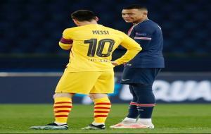 Mbappe dan Messi © instagram @k.mbappe