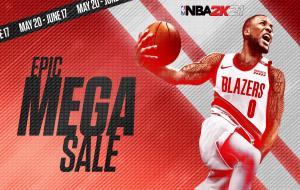 NBA 2k21 di Epic Games © twitter.com/EpicGames