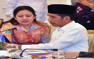 Puan Maharani Bersama Presiden Jokowi © instagram @puanmaharani
