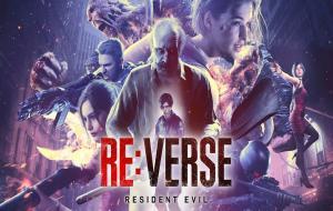 Resident Evil Reverse Logo © Capcom / Resident Evil