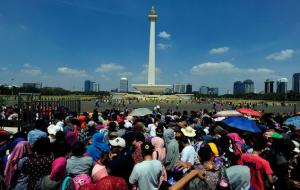 Warga Jakarta © idnjurnal