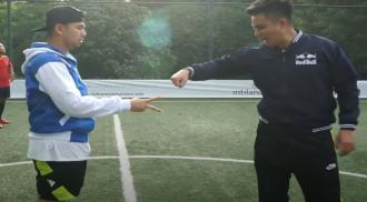 Baim Wong dan Raffi Ahmad (Image Credit: Tangkapan Layar Youtube RANS)