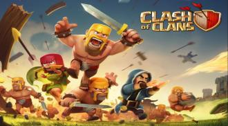 Clash of Clans (Image Credit: wallpaperup.com)