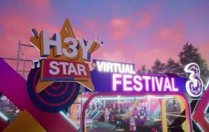 H3YSTAR Virtual Festival © Youtube Channel Tri Indonesia