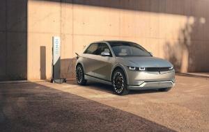 Hyundai resmi meluncurkan mobil listrik terbarunya, Ioniq 5, pada Selasa (23/2). © dok. Hyundai