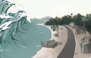 ilustrasi tsunami © baluarti.com