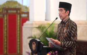 Presiden Republik Indonesia Joko Widodo © presidenri.go.id/BPMI Setpres/Laily RE