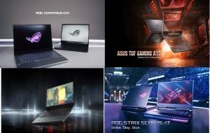 laptop asus rog © asus