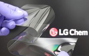 LG Chem Develops Foldable Display Material Using New Material Technologies © lgchem.com