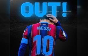 Lionel Messi resmi berpisah dengan Barcelona. © BALUARTI.COM