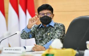 Menteri Komunikasi dan Informatika (Menkominfo), Johnny G. Plate © kominfo/AYH