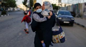 Ilustrasi Perang Israel dan Palestina ditengah Idul Fitri. (Image Credit: Reuters)