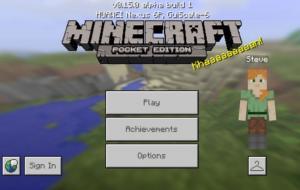 Salah satu game petualangan offline terbaik, Minecraft Pocket Edition © androidpolice.com