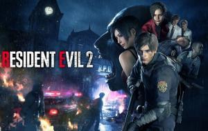 Salah satu game zombie terbaik di PC, Residen Evil 2 © uncleposter.com