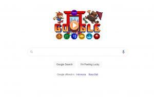 Google Hadirkan Game Doodle 16-bit © Google